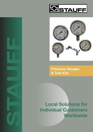 Pressure Gauges & Test Kits - Stauff