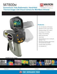 M7800m Data Sheet - Infrared camera sales and leasing