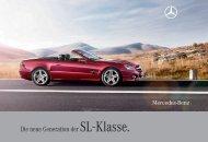 Die neue Generation der SL - Klasse. - Mercedes Benz