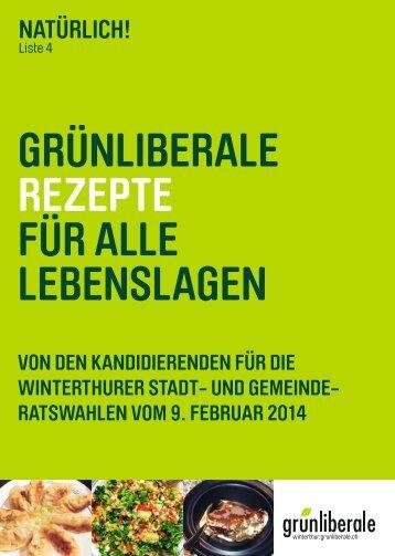 GLP-Kochbuch - Beat Meier Grünliberale