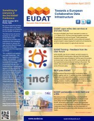 April 2013 (PDF) - EUDAT