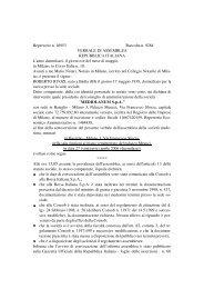Verbale Assemblea 27 aprile 2006 - Mediolanum SpA