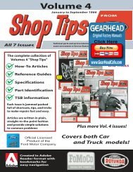 DEMO - Ford Ship Tips - Volume 4 - ForelPublishing.com