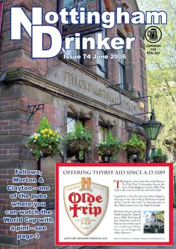 Issue 74 June 2006 Fellows, Morton & Clayton - one of the pubs ...