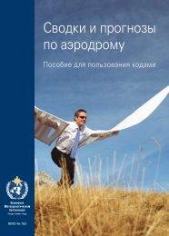 Сводки и прогнозы по аэродрому - E-Library - WMO