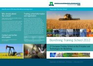 Biorefining Training School 2012