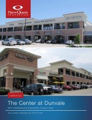 The Center at Dunvale - NewQuest Properties