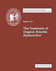 The American Urological Association Erectile Dysfunction ... - Vastim