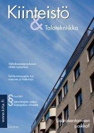 Kiinteistö & Talotekniikka 6/2012 - PubliCo Oy