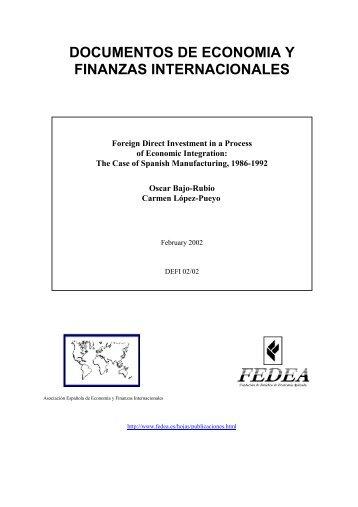 DOCUMENTOS DE ECONOMIA Y FINANZAS ... - AEEFI
