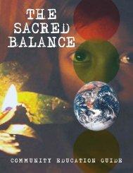The Sacred Balance - Community Education Guide - Bullfrog Films
