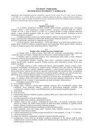 študijný poriadok technickej univerzity v košiciach - TUKE