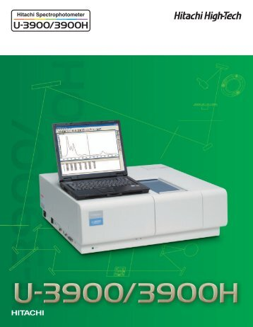 U-3900 Brochure-HTB-E046R.pdf - Hitachi High Technologies ...
