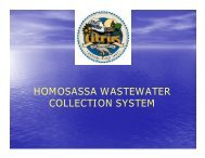 Homosassa Wastewater Collection System, Phase V