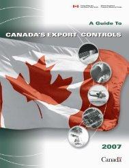 Export Control List (PDF) - Carleton University