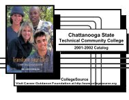 Copyright & Disclaimer You may: Information - Chattanooga State ...
