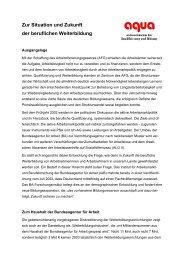 Das Grundsatzpapier von aqua erhalten Sie hier als PDF-Dokument.