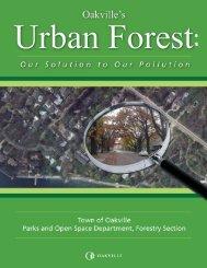 Oakville's Urban Forest - i-Tree