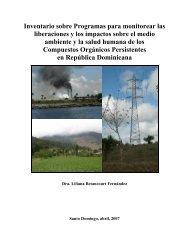 Programas de monitoreo - Ministerio de Medio Ambiente