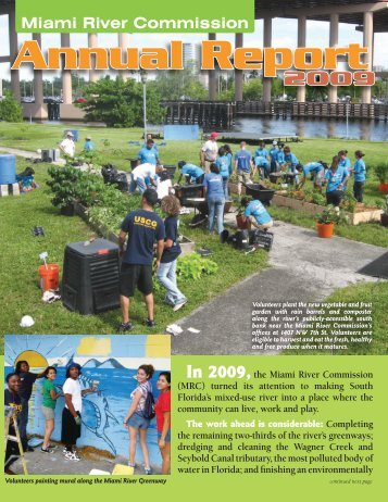 Miami River Commission Annual Report 2009