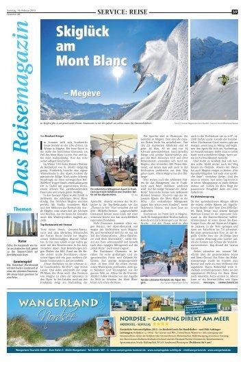 SVO: Das Reisemagazin 16. Februar 2013 - Recklinghaeuser Zeitung