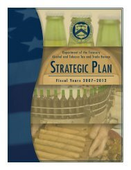 TTB Strategic Plan FY 2007