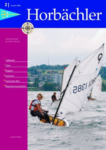 Anmeldung - Yacht Club Zug