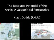 The Arctic - International Center for Climate Governance
