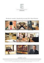 Konferera centralt i Sundsvall på anrika Elite Hotel ... - Elite Hotels