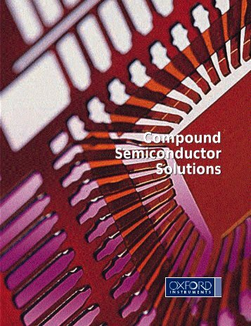 DOWNLOAD the Compound Semiconductor Brochure (1.5 MB)
