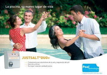 JUSTSALT®DUO+ - POOL TECHNOLOGIE