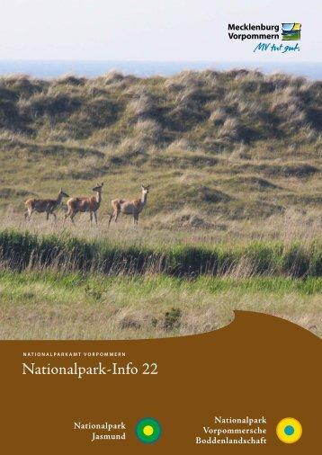 Nationalpark-Info 22 - Nationalpark Vorpommersche ...