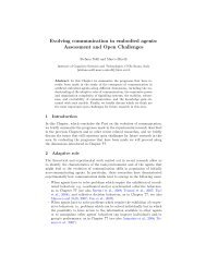 Evolving communication in embodied agents: Assessment and ...
