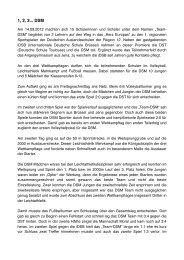 Homepage Bericht - Deutsche Schule Moskau