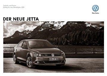 DER NEUE JETTA - Volkswagen AG