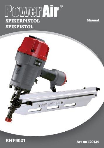 SPIKERPISTOL SPIKPISTOL RHF9021