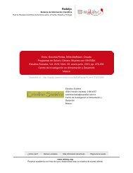 Redalyc.Programas de Salud y Género. Mujeres con ... - Sida Studi