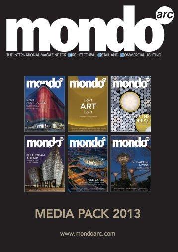 MEDIA PACK 2013 - Mondo Arc