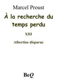 Albertine disparue - Aldus