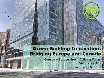 Thomas Mueller - Europe Green Building Forum