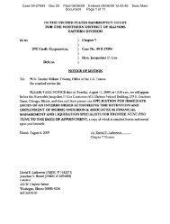 Case 09-27094 Doc 25 Filed 08/06/09 Entered 08/06/09 12:43:46 ...