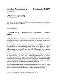 Landtag Brandenburg Drucksache 5/4678