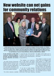 New website can net gains for community relations - Belfast ...
