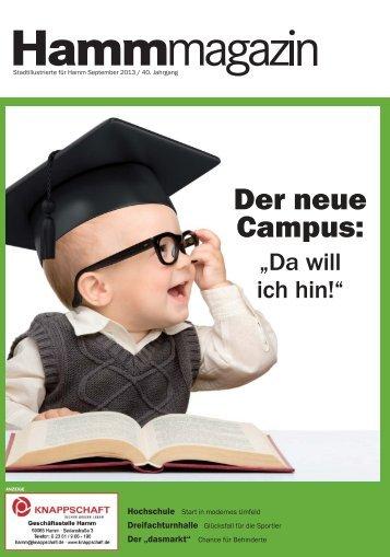 """Der neue Campus: """"Da will ich hin!"""" - Verkehrsverein Hamm"""
