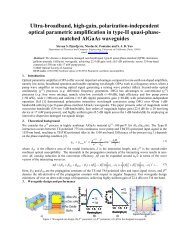 Ultra-broadband, high-gain, polarization-independent optical ...