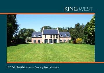 Stone House, Preston Deanery Road, Quinton