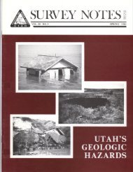 Volume 20, Number 1 - Utah Geological Survey