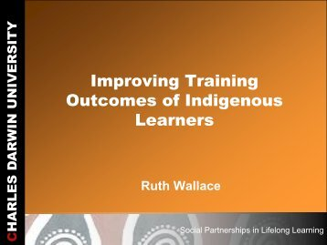 Improving Training Outcomes of Indigenous Learners