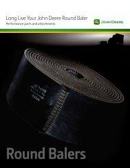 Long Live Your John Deere Round Baler - LongsPeakEquipment
