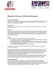 Agb's betrachten... - CCT Elektro AG